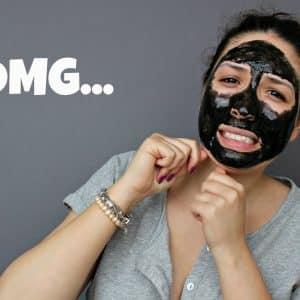 маски с активен въглен