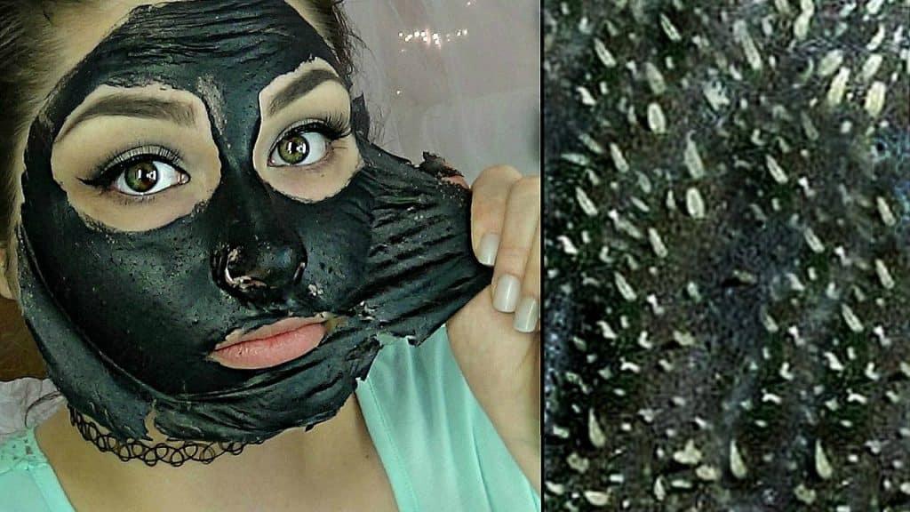 маска с активен въглен